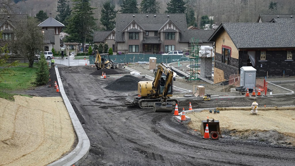 Pool at Pleasant Beach, Coast to Coast Concrete Construction works on driveways and parking