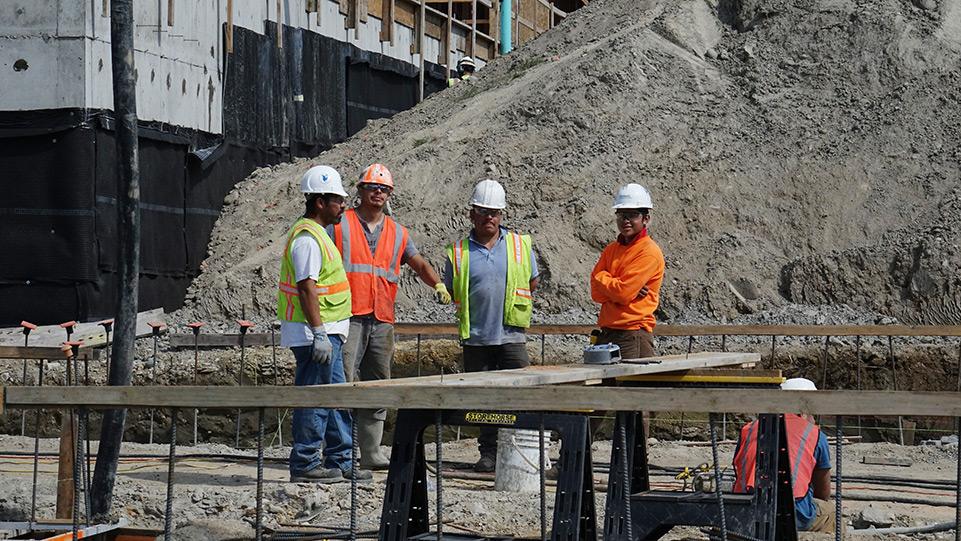 Coast to Coast Concrete Construction at Grow Community site