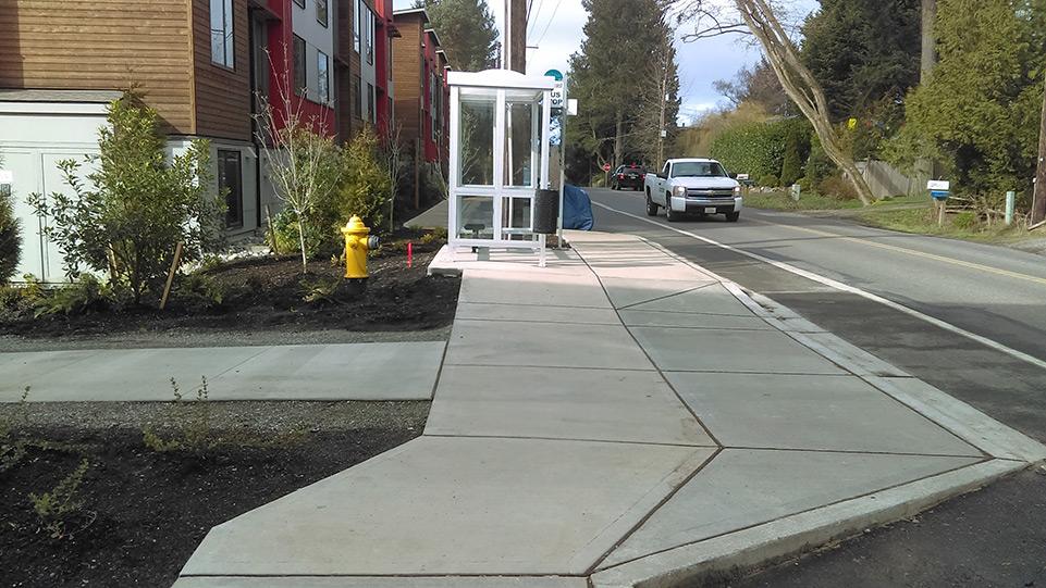 Sidewalks at the Grow Community